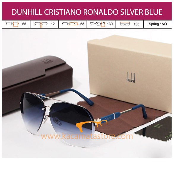 DUNHILL CRISTIANO RONALDO SILVER BLUE