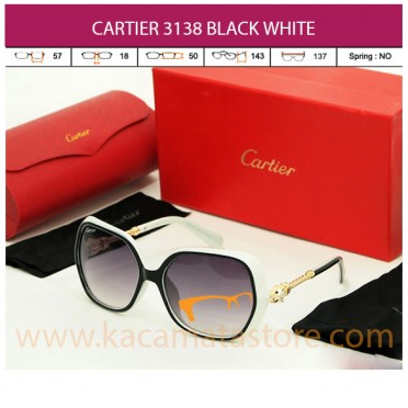 CARTIER 3138 BLACK WHITE