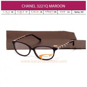 CHANEL CH3221Q MAROON