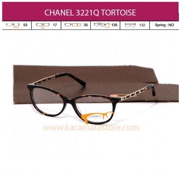 CHANEL CH3221Q TORTOISE