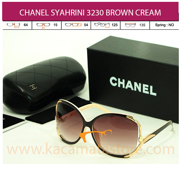 CHANEL SYAHRINI 3230 BROWN CREAM