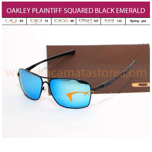 OAKLEY PLAINTIFF SQUARED BLACK EMERALD