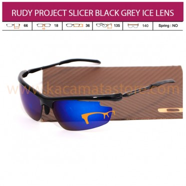 RUDY PROJECT SLICER BLACK GREY ICE LENS