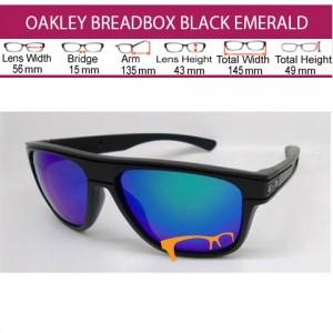 OAKLEY BREADBOX BLACK EMERALD