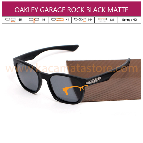 OAKLEY GARAGE ROCK BLACK MATTE