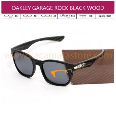 OAKLEY GARAGE ROCK BLACK WOOD
