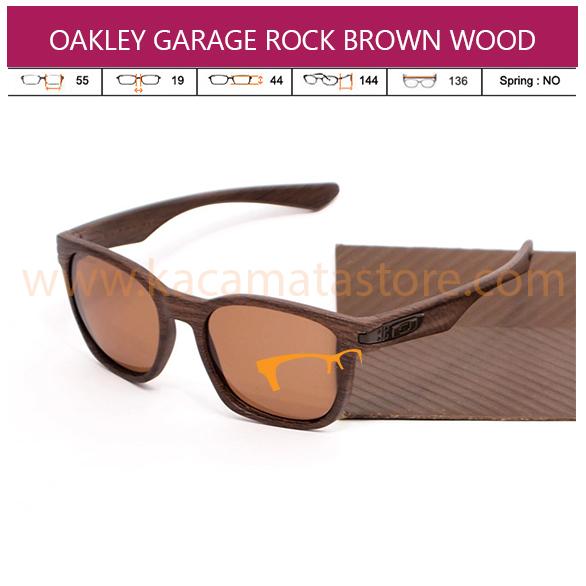 OAKLEY GARAGE ROCK BROWN WOOD