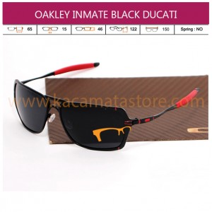 OAKLEY INMATE BLACK DUCATI (GRADE AAA)