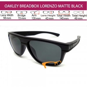 OAKLEY BREADBOX JORGE LORENZO MATTE BLACK