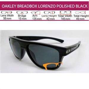 OAKLEY BREADBOX JORGE LORENZO POLISHED BLACK