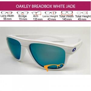 OAKLEY BREADBOX WHITE JADE