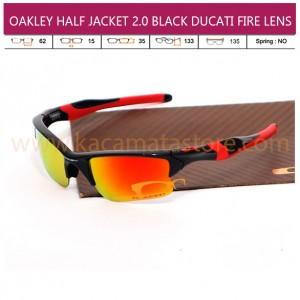 OAKLEY HALF JACKET 2 BLACK DUCATI FIRE LENS