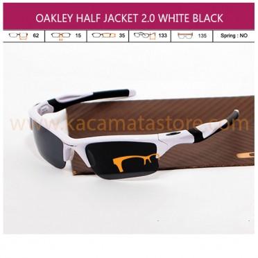 OAKLEY HALF JACKET 2 WHITE BLACK