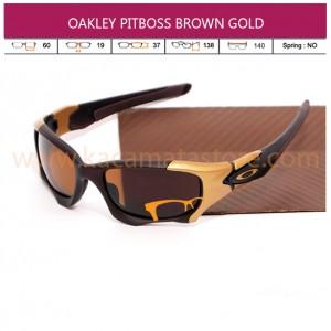 OAKLEY PITBOSS II GOLD BROWN