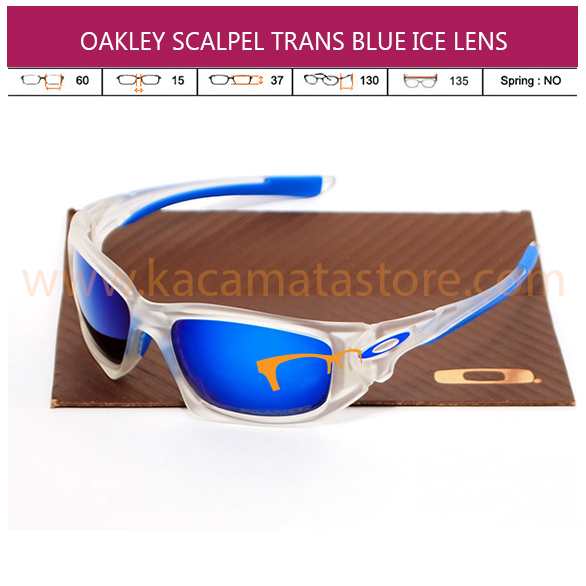 OAKLEY SCALPEL TRANS BLUE ICE LENS