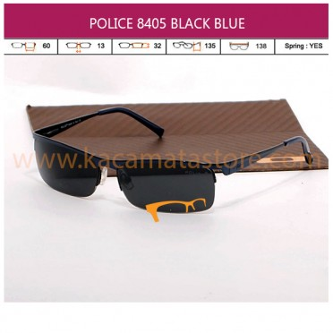 POLICE 8405 HALF BLACK BLUE