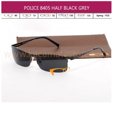 POLICE 8405 HALF BLACK GREY