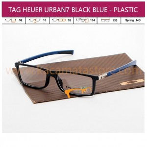 TAG HEUER URBAN7 BLACK BLUE - PLASTIC
