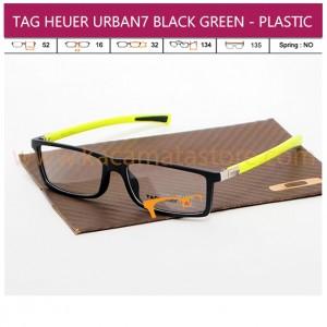 TAG HEUER URBAN7 BLACK GREEN - PLASTIC