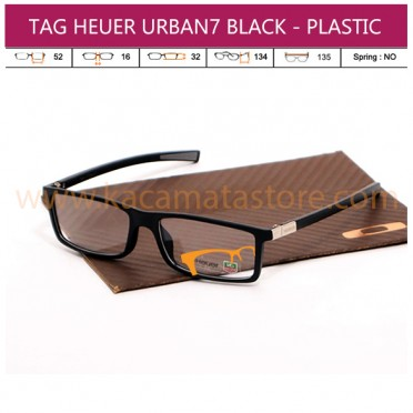 TAG HEUER URBAN7 BLACK - PLASTIC