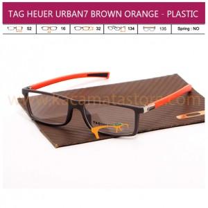 TAG HEUER URBAN7 BROWN ORANGE - PLASTIC
