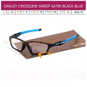 OAKLEY CROSSLINK SWEEP SATIN BLACK BLUE