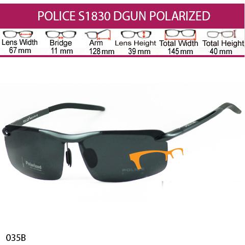 JUAL KACAMATA ONLINE POLICE S1830 DGUN POLARIZED