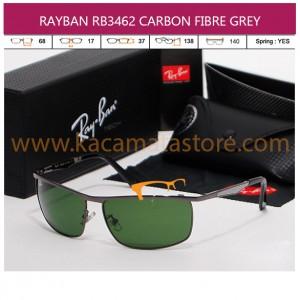 JUAL KACAMATA RAYBAN RB3462 CARBON FIBRE GREY