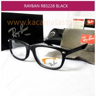 JUAL KACAMATA RAYBAN RB 5228 BLACK