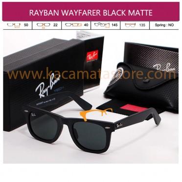 JUAL KACAMATA RAYBAN WAYFARER BLACK MATTE