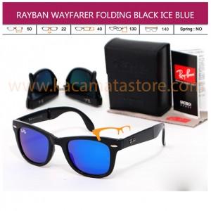 TREND KACAMATA TERBARU JUAL KACAMATA MURAH RAYBAN WAYFARER FOLDING BLACK ICE BLUE
