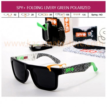 JUAL MODEL KACAMATA TERBARU MURAH SPY+ FOLDING LIVERY GREEN