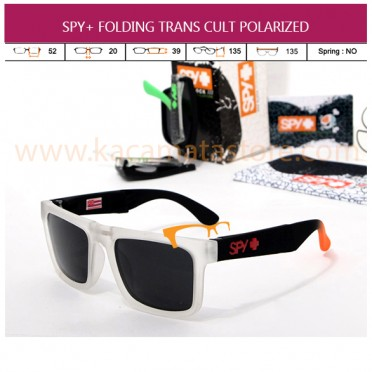 JUAL MODEL KACAMATA TERBARU MURAH SPY+ FOLDING TRANS CULT