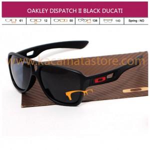 OAKLEY DISPATCH II BLACK DUCATI
