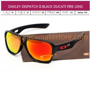 JUAL KACAMATA OAKLEY DISPATCH II BLACK DUCATI FIRE LENS