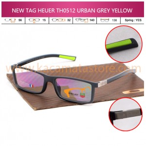NEW TAG HEUER TH0512 URBAN GREY YELLOW
