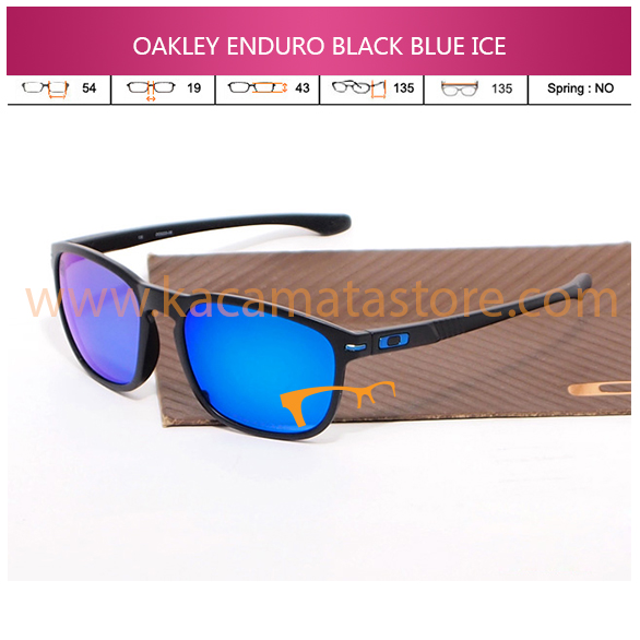 JUAL KACAMATA OAKLEY ENDURO BLACK BLUE ICE