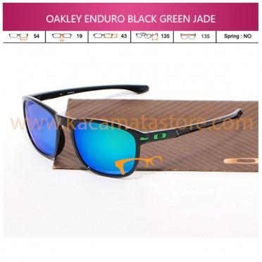 JUAL KACAMATA OAKLEY ENDURO BLACK GREEN JADE