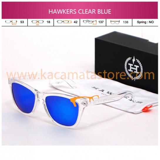 JUAL KACAMATA HAWKERS JORGE LORENZO CLEAR BLUE