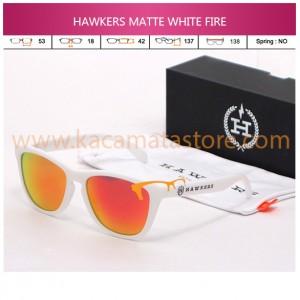 HAWKERS JORGE LORENZO MATTE WHITE FIRE