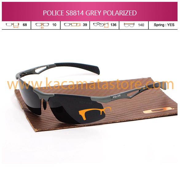 JUAL KACAMATA ONLINE POLICE S8814 GREY POLARIZED