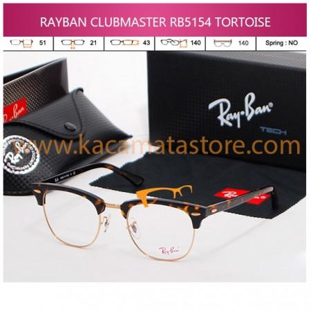 KACAMATA BACA RAYBAN CLUBMASTER RB5154 TORTOISE