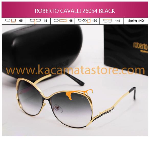 MODEL KACAMATA TERBARU TOKO KACAMATA ONLINE ROBERTO CAVALLI 26054 BLACK