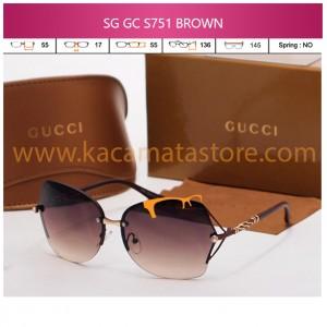 JUAL KACAMATA ONLINE SG GC S751 BROWN