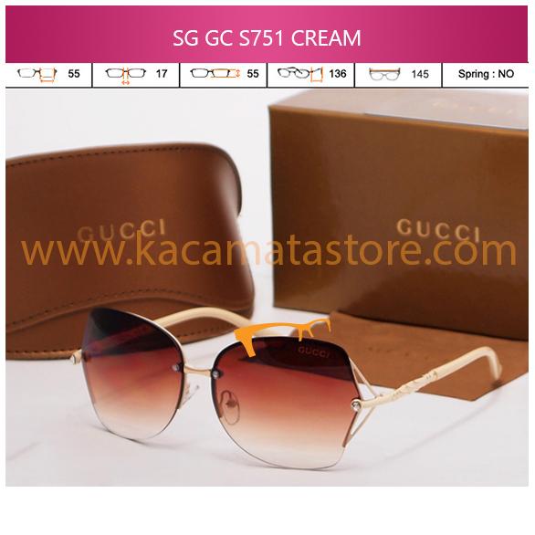 JUAL KACAMATA ONLINE SG GC S751 CREAM