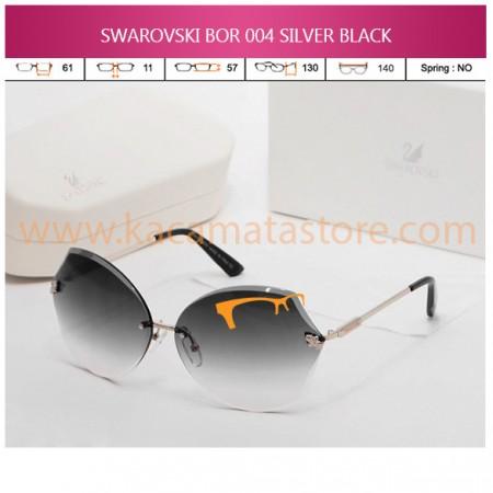 SWAROVSKI BOR 004 SILVER BLACK