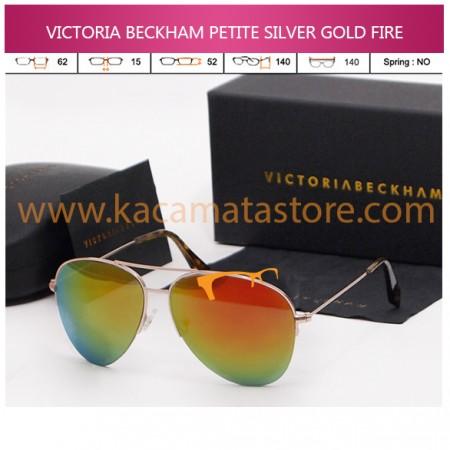 VICTORIA BECKHAM PETITE SILVER GOLD FIRE