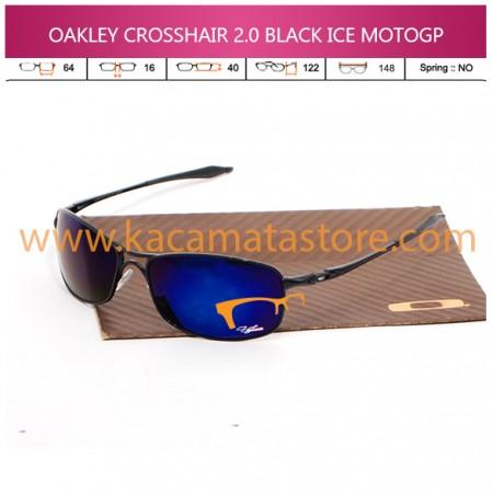 GROSIR KACAMATA MURAH JUAL KACAMATA OAKLEY CROSSHAIR 20 BLACK ICE MOTOGP