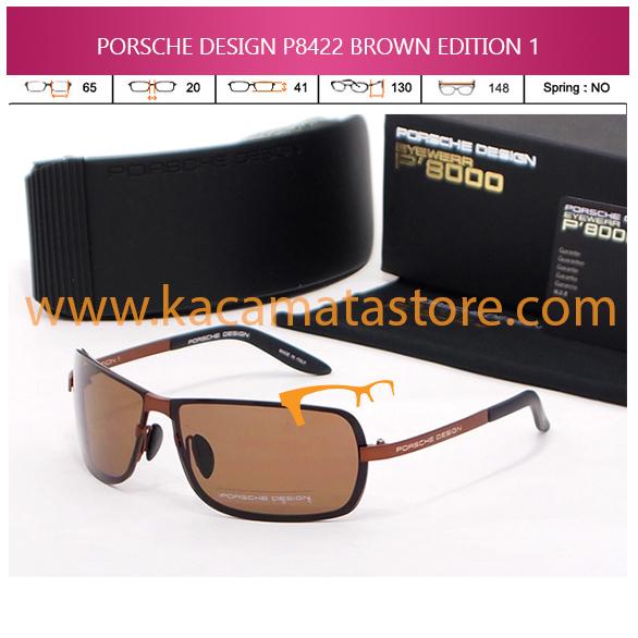 JUAL KACAMATA ONLINE PORSCHE DESIGN P8422 BROWN EDITION 1