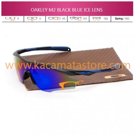 JUAL KACAMATA OAKLEY M2 BLACK BLUE ICE LENS